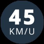 Brom 45 km/uur